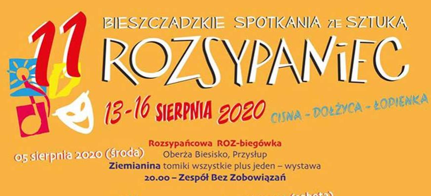 Bieszczadzkie Spotkania ze Sztuką – Rozsypaniec 2020