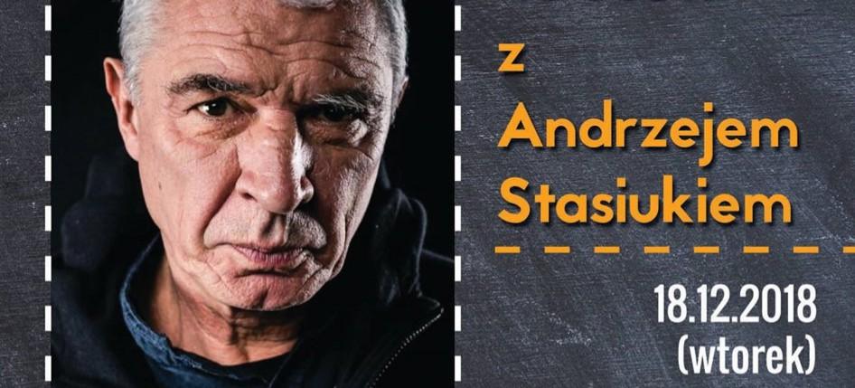 Spotkanie z Andrzejem Stasiukiem u Dominikanów