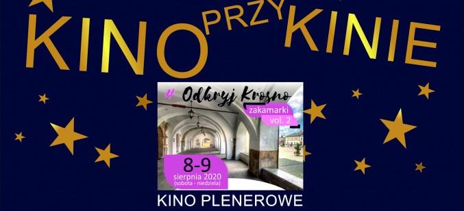 ,,KINOPRZYKINIE'' - Krośnieńskie kino plenerowe
