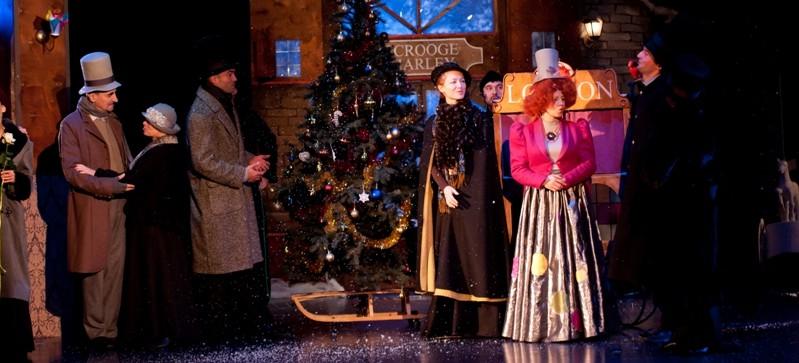 Opowieść wigilijna w Teatrze Maska