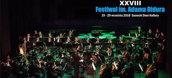 XXVIII Festiwal im. Adama Didura 2018