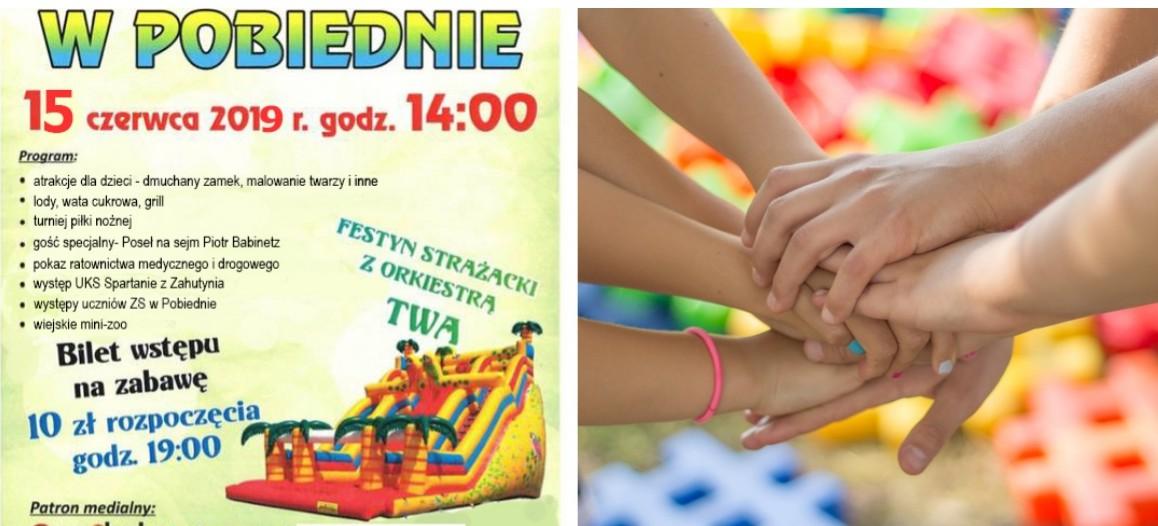 Dzień Dziecka i Festyn Strażacki w Pobiednie