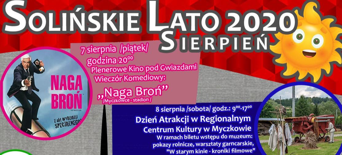 BIESZCZADY: Solińskie Lato Sierpień 2020