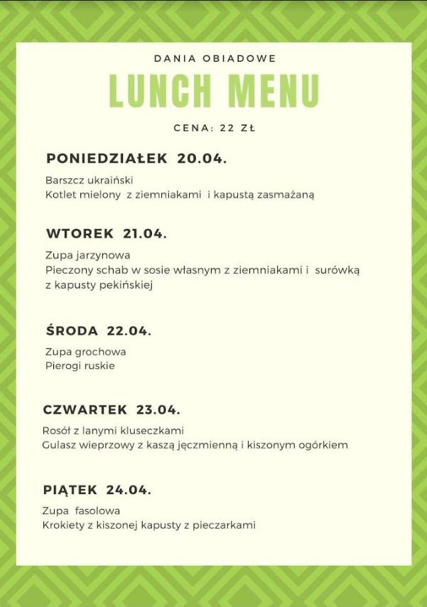 lumch-menu