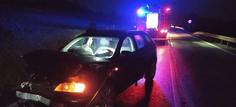 POWIAT BRZOZOWSKI: Pijany kierowca sprawcą kolizji (ZDJĘCIA)