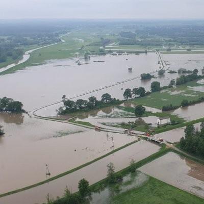 Sytuacja powodziowa w powiecie mieleckim