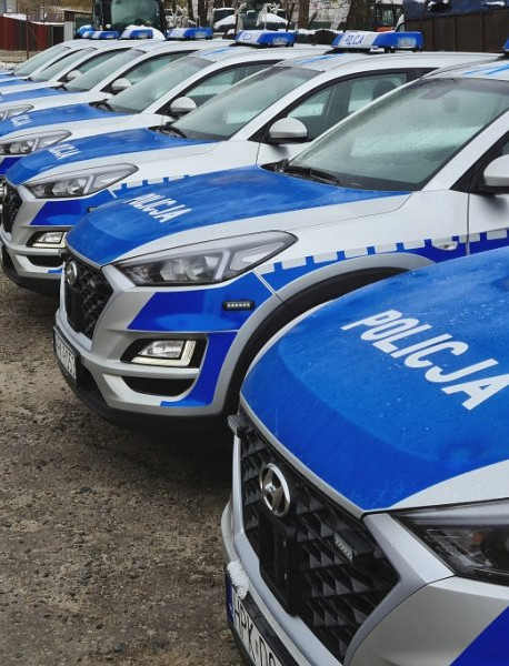 Nowe samochody dla podkarpackiej Policji! (FOTO)