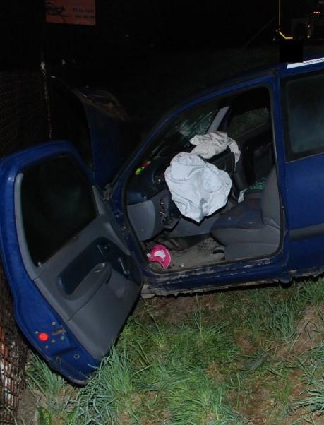 HUMNISKA: Pijany wjechał w audi. 28-latek trafił do szpitala, nie ominie go surowa kara (ZDJĘCIA)