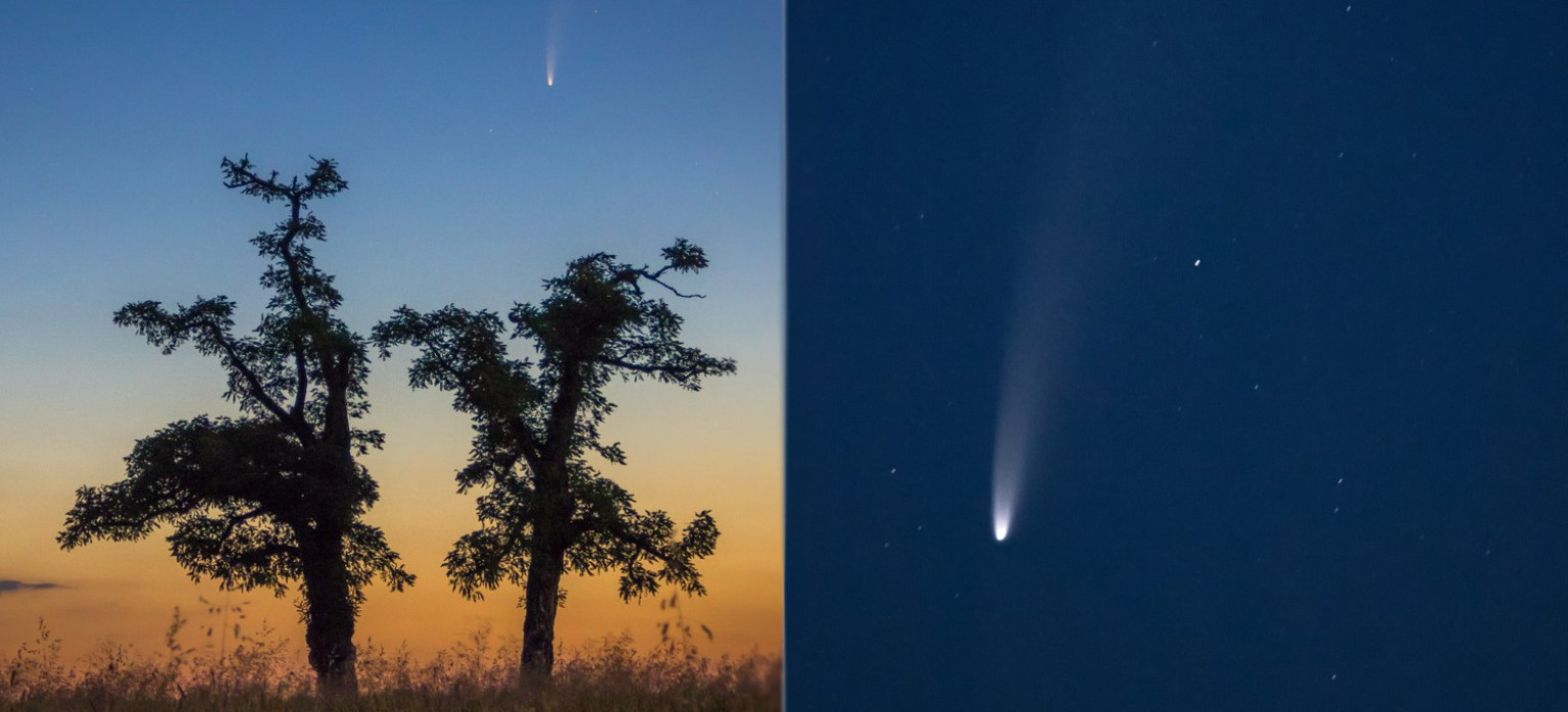 Wyjątkowe zjawisko! Kometa Neowise na podkarpackim niebie! (ZDJĘCIA)