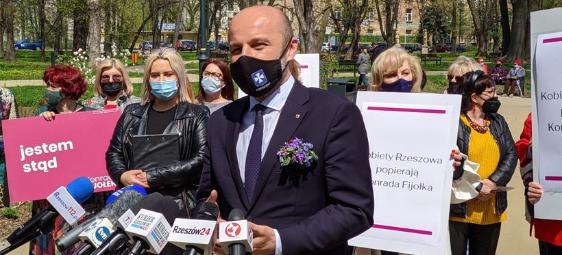 Konrad Fijołek z poparciem rzeszowskich środowisk kobiecych (VIDEO, FOTO)