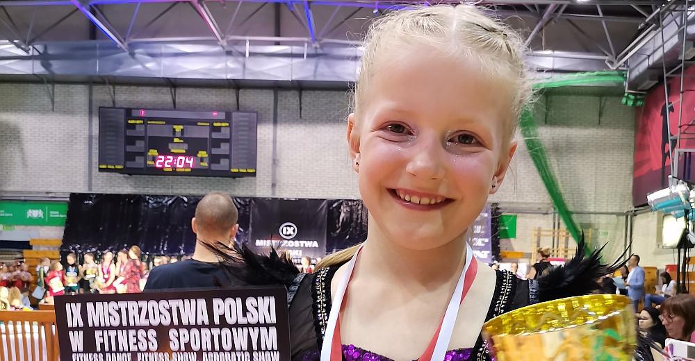 Sukcesy 8-letniej Spartanki! Liwia z brązowym medalem!
