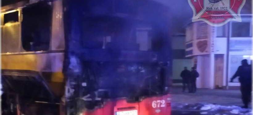 RZESZÓW. W nocy spłonął miejski autobus! (FOTO)