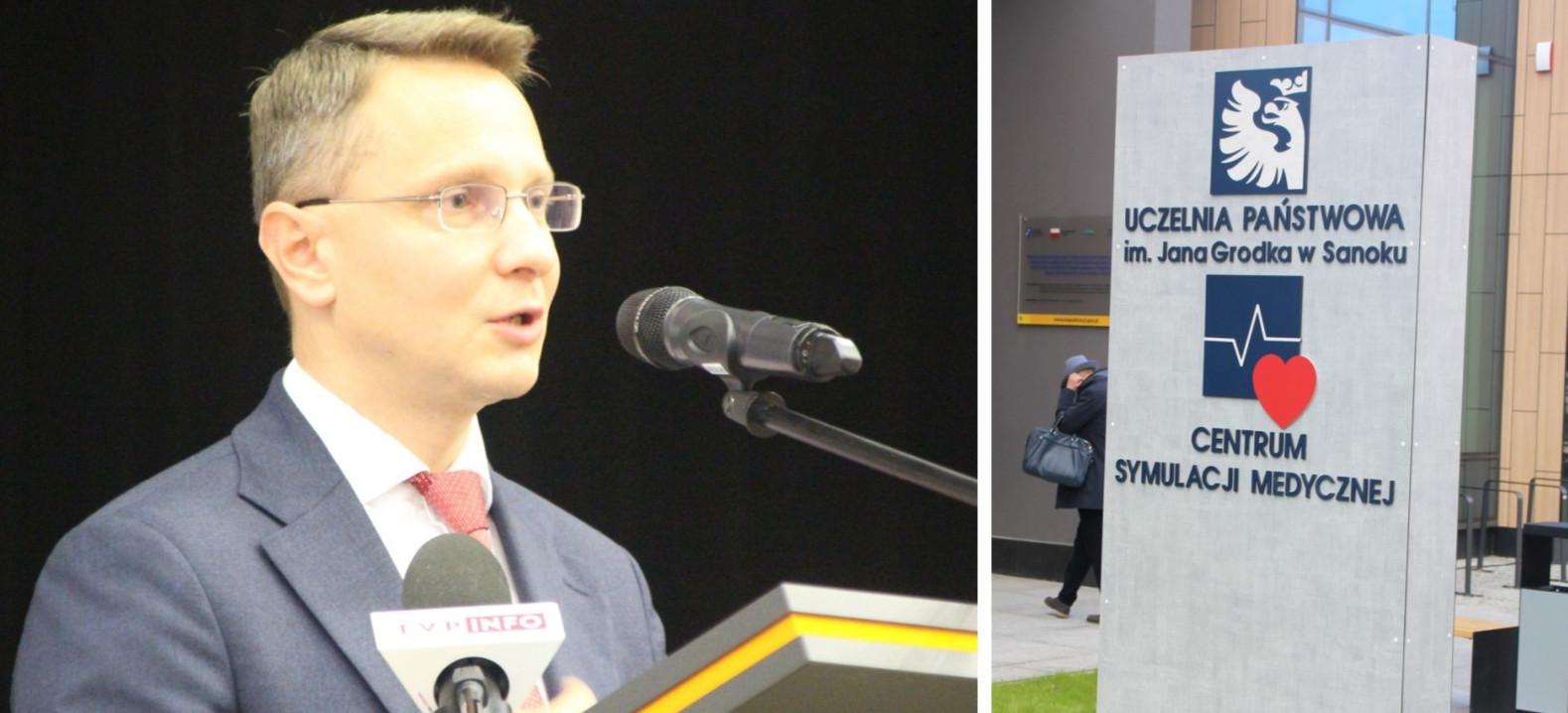"""""""Nowoczesny budynek CSM to duma dla Sanoka"""". Wystąpienie posła Uruskiego (VIDEO, ZDJĘCIA)"""