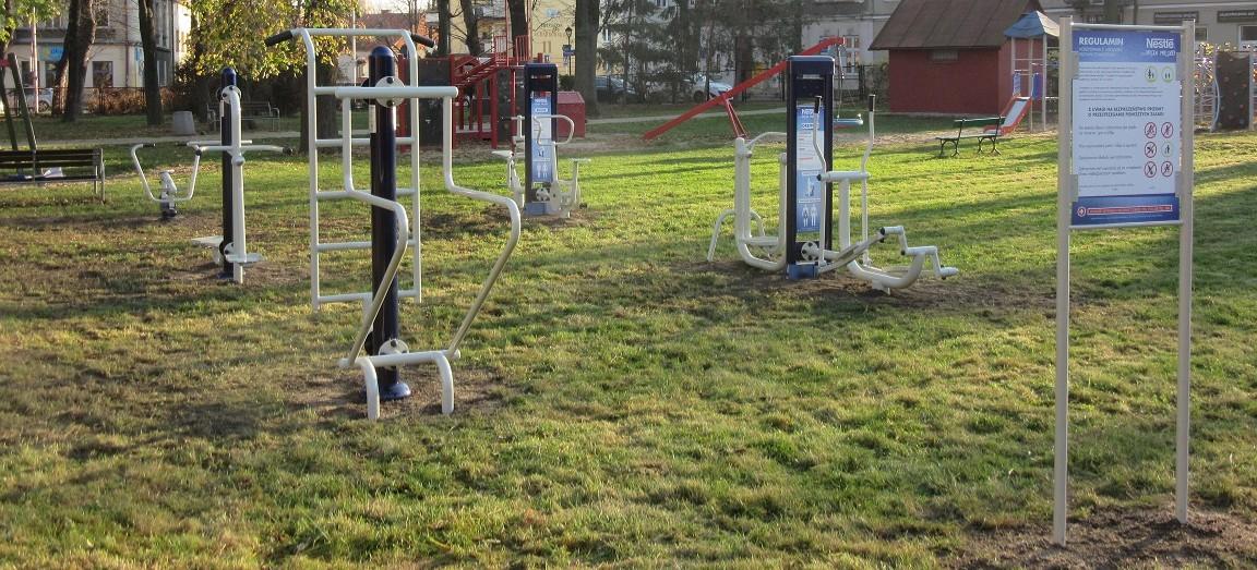 W Rzeszowie powstała siłownia plenerowa od Nestlé (FOTO)