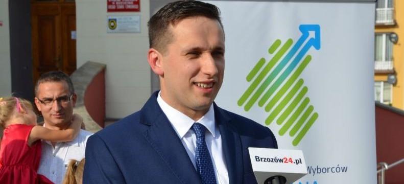 """Szymon Stapiński kandydatem na burmistrza Brzozowa. ,,Nasza gmina potrzebuje zmiany dla rozwoju"""" (VIDEO, FOTO)"""