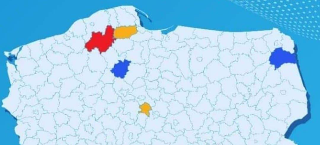 Aktualna lista powiatów objętych dodatkowymi obostrzeniami