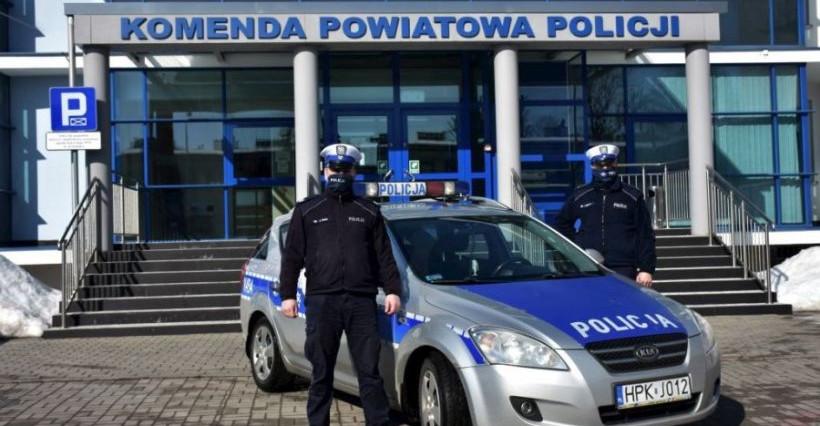 JAROSŁAW. Policja eskortowała do szpitala kobietę z zawałem serca