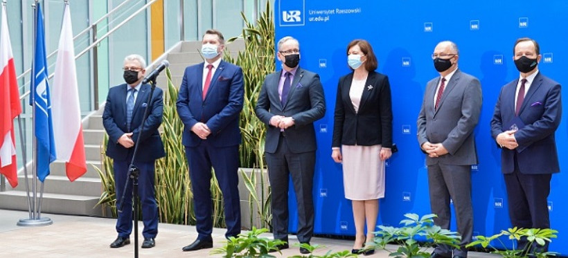 Szpital uniwersytecki w Rzeszowie. Ministrowie edukacji i zdrowia podpisali daklarację (VIDEO, ZDJĘCIA)