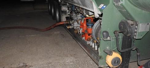 Oszustwo paliwowe wykryte (FOTO)
