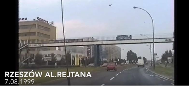 Tak wyglądała al. Rejtana 20 lat temu! Wyjątkowe nagranie! (WIDEO)