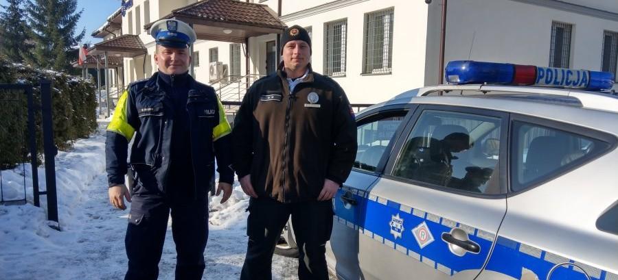 BIESZCZADY: Wspólne polsko-słowackie patrole ruchu drogowego