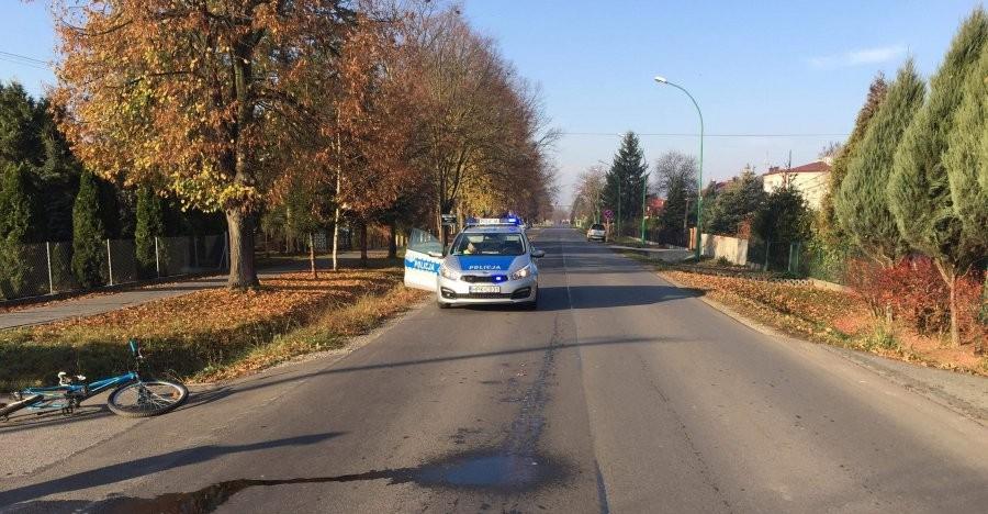 Potrącenie 12-latka w Białobrzegach