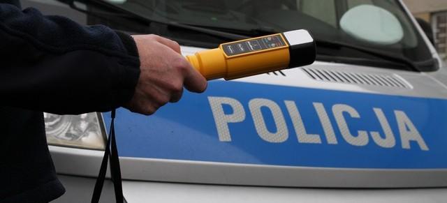 Kompletnie pijany motorowerzysta uciekał przed policją