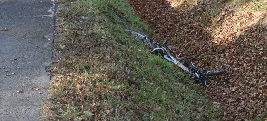 8-letni rowerzysta ranny w wypadku drogowym (ZDJĘCIE)