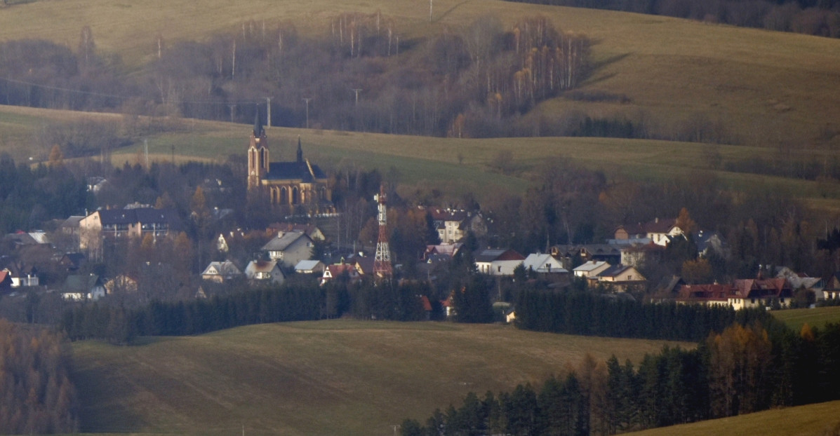 Lutowiska, Halicz, samotna cerkiewka w Sokolikach. Wspaniałe widoki! (FOTO)