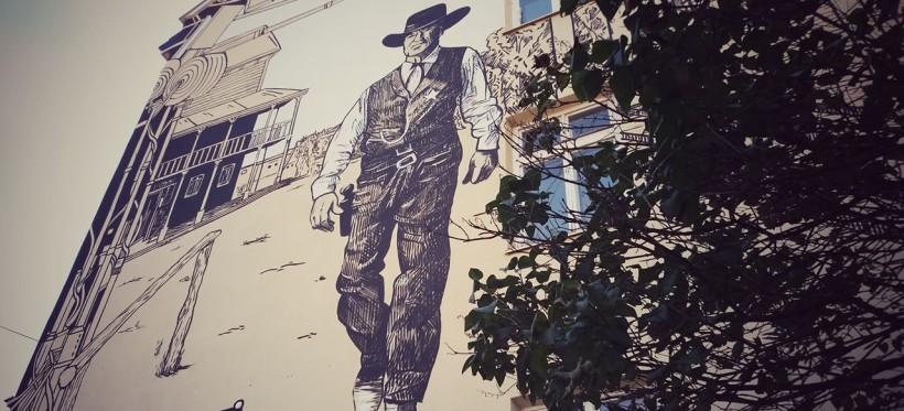 Powstał mural ku czci reżysera urodzonego w Rzeszowie (ZDJĘCIA)