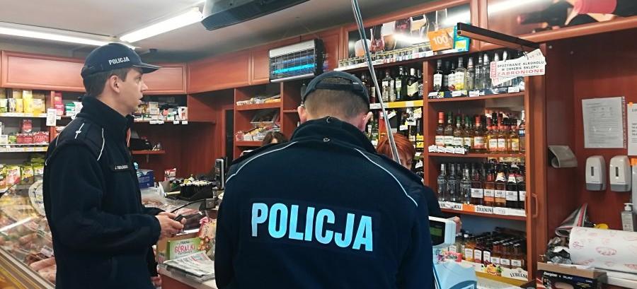 """Działania policji: """"Alkohol – ograniczona dostępność"""""""