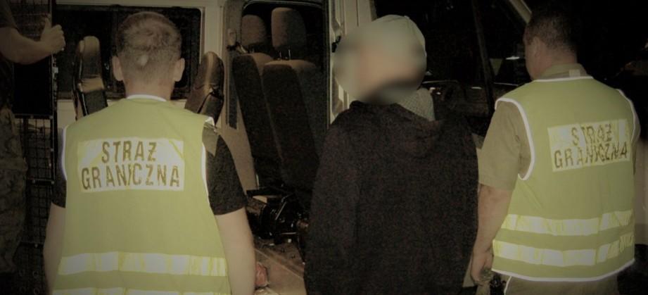KORCZOWA: Straż Graniczna zatrzymała podejrzanego o napady z bronią w ręku!
