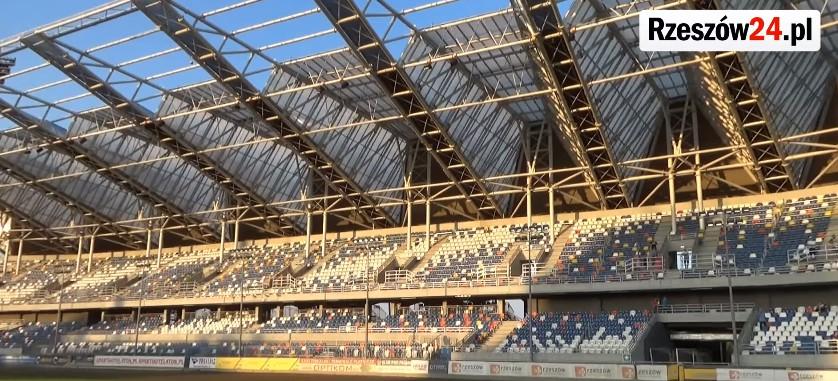 Modernizacja Stadionu Miejskiego w Rzeszowie! Oświetlenie LED i podgrzewana murawa