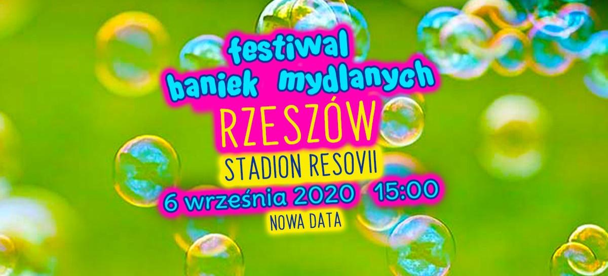 Festiwal Baniek Mydlanych w Rzeszowie !