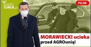 Szarża rolników AGROunii! Premier ucieka przed rolnikami CAŁOŚĆ (VIDEO)