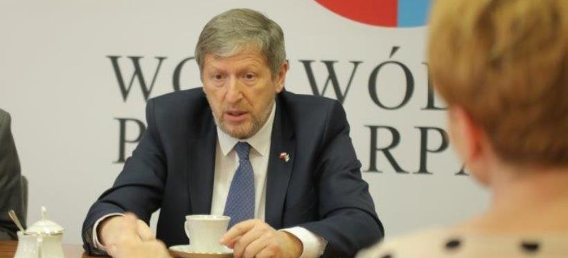 Ambasador Izraela w Polsce odwiedził Podkarpacie