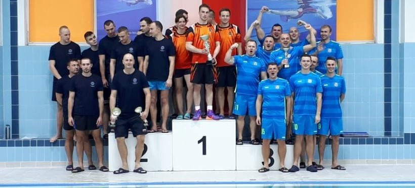 Sukces rzeszowskich strażaków na Mistrzostwach Polski Służb Mundurowych w pływaniu!