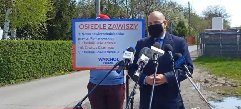 Maciej Masłowski o programie Marcina Warchoła dla osiedla Zawiszy