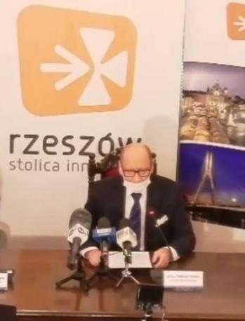 tvRzeszow: Tadeusz Ferenc zrezygnował ze stanowiska prezydenta! Poparł Marcina Warchoła (VIDEO)
