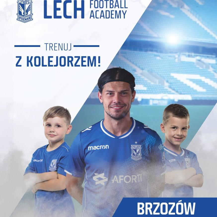 Lech Poznań Football Academy  otwiera szkółkę w Brzozowie