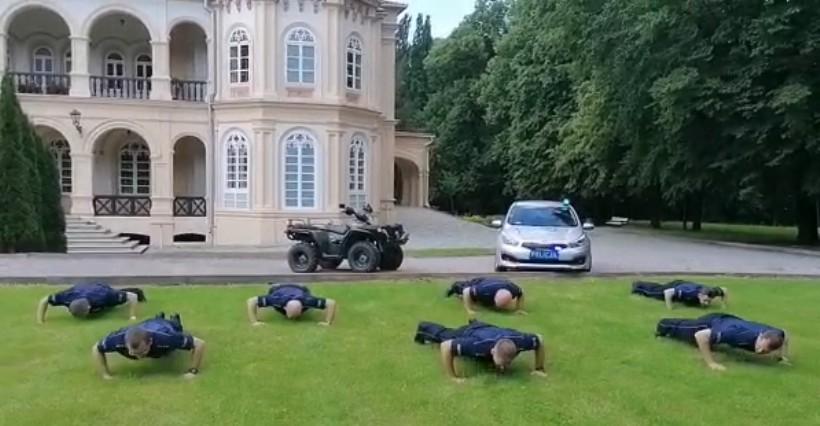 Policjanci z Tyczyna przystąpili do #GaszynChallenge (WIDEO)