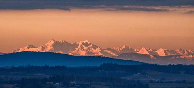 Tatry widziane z Podkarpacia! Niesamowity widok! (FOTO)