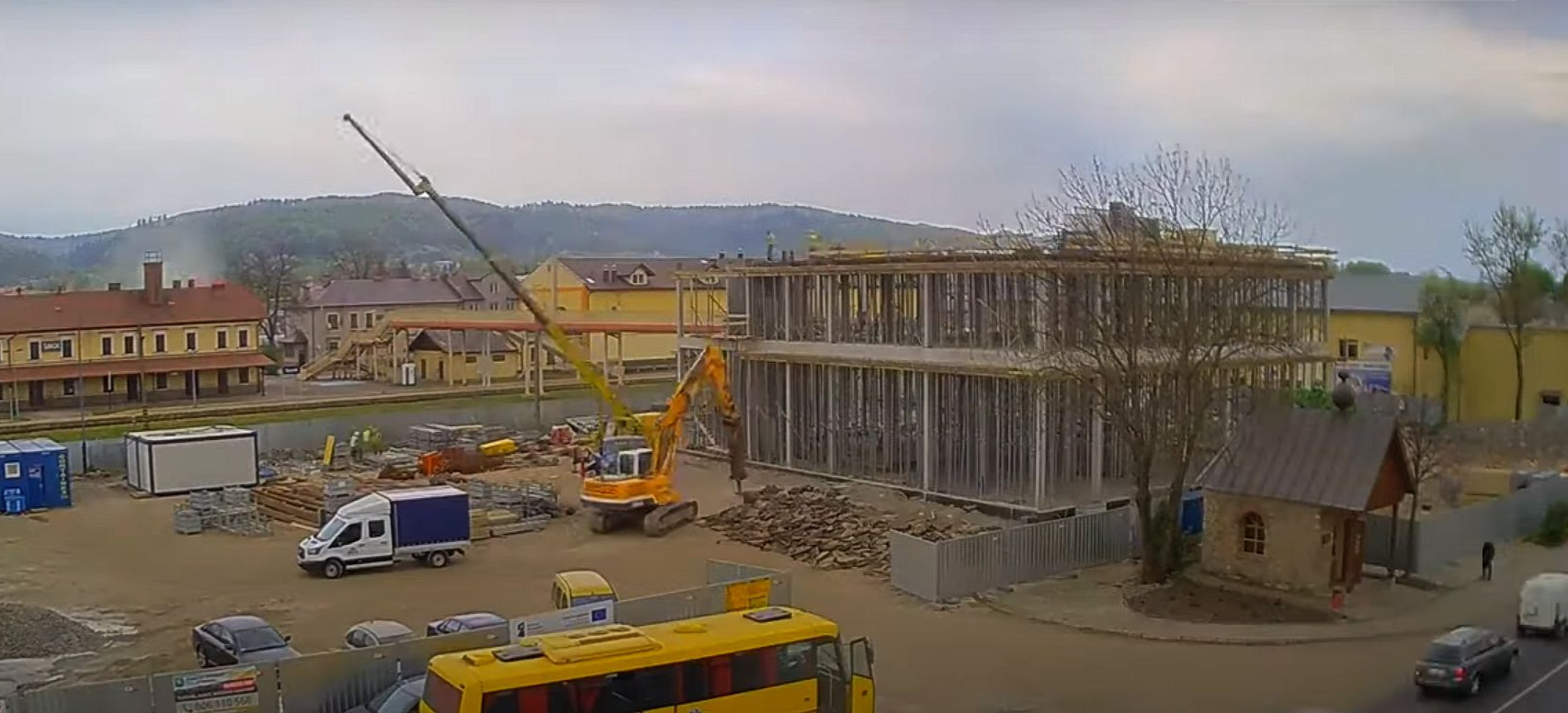 SANOK: Budowa dworca w 7 minut! Niepublikowane materiały (VIDEO)
