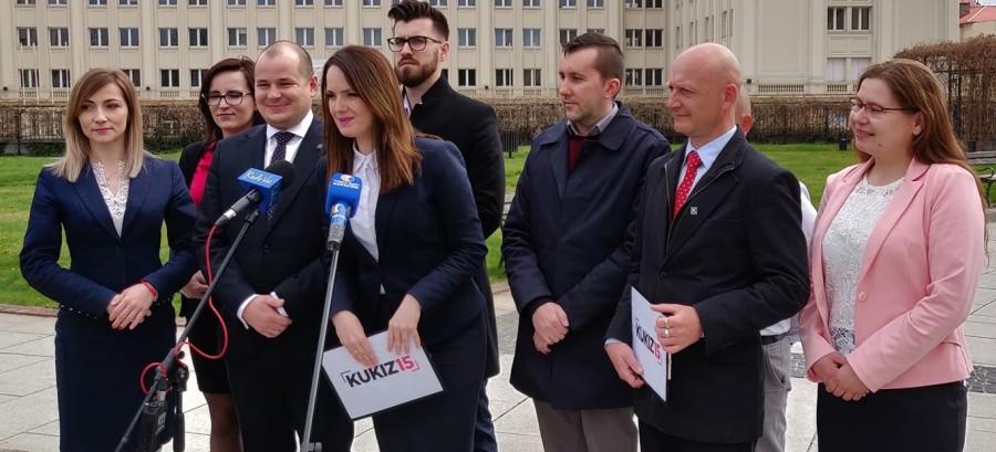 PODKARPACIE: Ruch Kukiz'15 przedstawił swoich kandydatów do Parlamentu Europejskiego