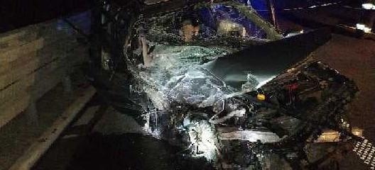 Pijany jechał pod prąd autostradą. 6 osób w szpitalu (ZDJĘCIA)