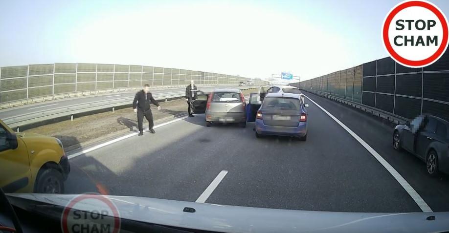 RZESZÓW. Obywatelskie ujęcie pijanego kierowcy na A4! (VIDEO)
