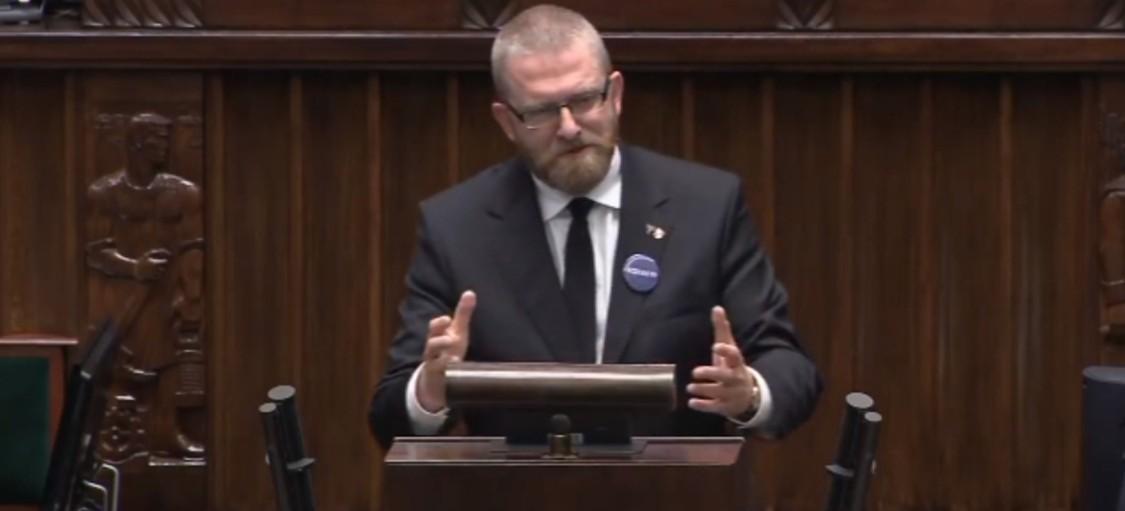 GRZEGORZ BRAUN w Sejmie: Panie Zandberg, martwię się o pana! | Sejm (28.05.2020)