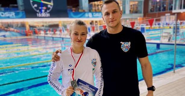 Rzeszowianka wicemistrzynią Polski w pływaniu! (ZDJĘCIA)