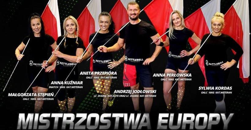 Kettlebell Rzeszów z gradem medali mistrzostw Europy! (FOTO)