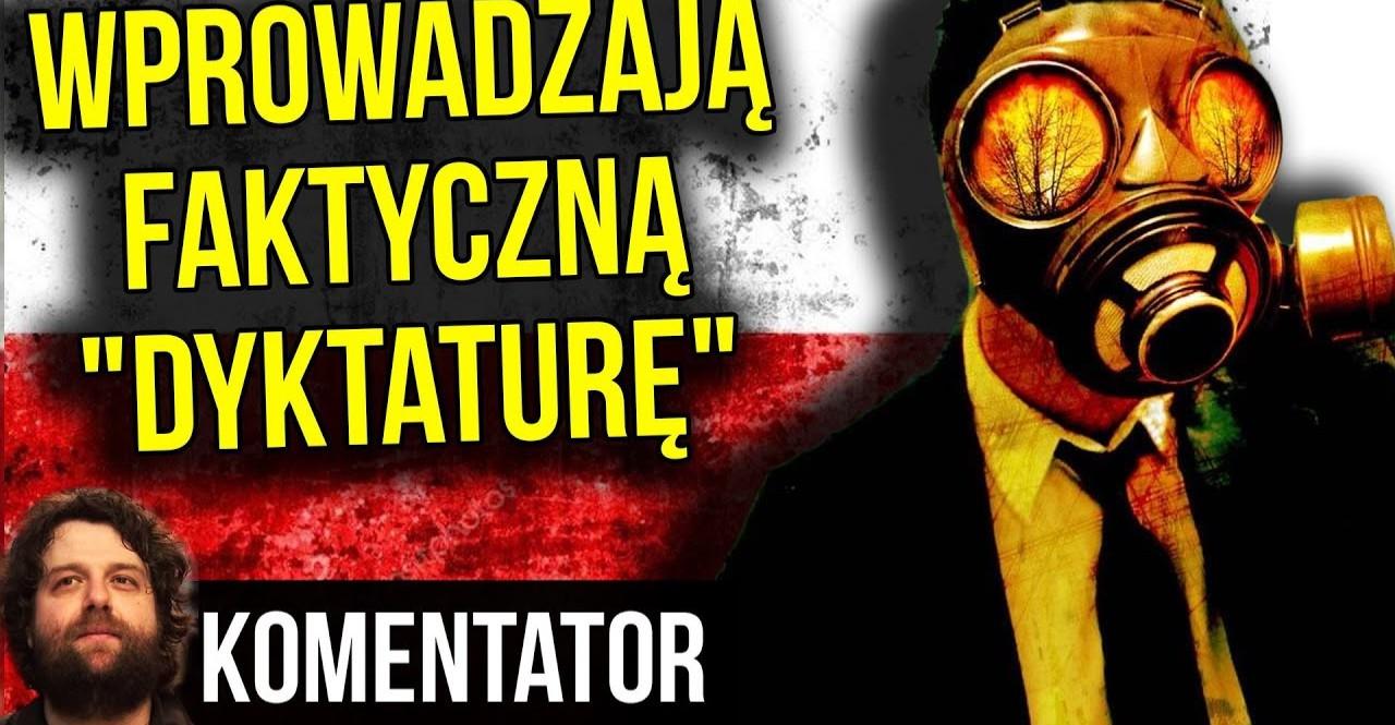 """Wprowadzają faktyczną quasi """"dyktaturę"""" w Polsce pod pozorem walki z koronawirusem?"""